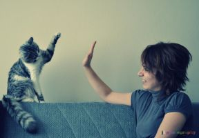 high five by judenlucy