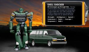 Transformers - Shell Shocker by agra19