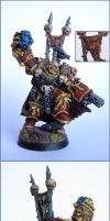 Khorne lord chaos marine 40k by razzminis