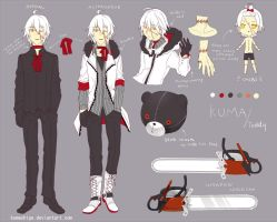 Kuma character sheet by kumashige