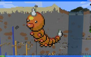 Weedle On Minecraft by Miccopicco