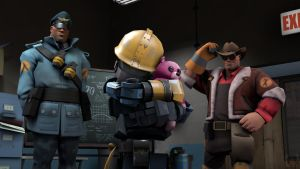 TF2: Little buddy by Bielek