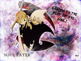 Soul Eater WP - Soul and Maka by RikarudoIgu