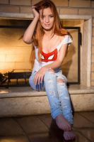 Spiderman - Mary Jane cosplay by MishiroMirage