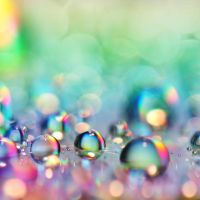 rainbow drops by Fussel2112