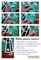 Tutorial : Ribbon flower by Aliceincosplayland