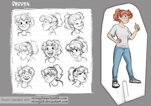 Pepper Character Sheet (old) by Renny08