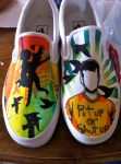 All Time Low Shoes by IerosWay