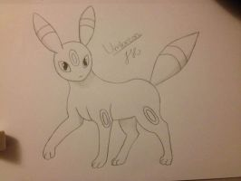 Umbreon by ThunderJess