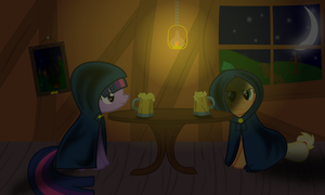 A Clandestine Meeting by lightningtumble