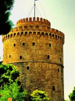 The Tower in Thessalonica by cavinton