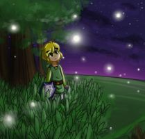 Fireflies by kopso866