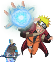 Render Naruto Rasengan by Zebaz-DarkSlayer
