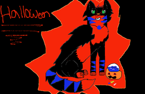 Halloween with Ares by Bespattered94