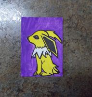 Jolteon ACEO by chkimbrough
