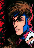 Sketchcard Gambit by RichBernatovech