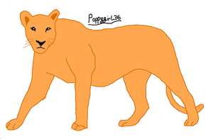 More Bases/Linearts: Lioness by poppygirl36