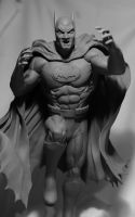 Batman (Adams style) alt angle by SKBstudios