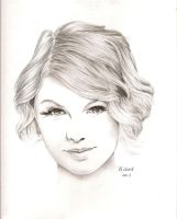 Taylor Swift Commission by heatherw290