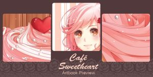 Cafe-Sweetheart-Artbook-Preview by Miss-Ariellia