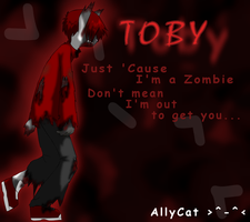 Toby the Zombie by xAllyCat