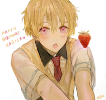 happy birthday Nagisa ! by Memipong