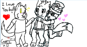 Iscribble: Chibi Yaoi boys by glaciethewolf