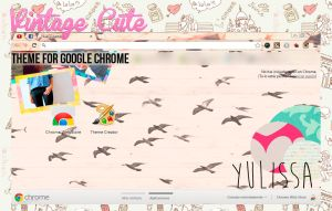 Theme Google Chrome Cute Vintage  by yulissa346