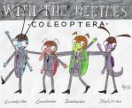 With the Beetles by Eusoniptera