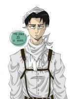 Cleanup~ Levi .:AoT:. by Lala-Dello