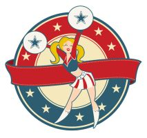 Cheerleader Retro by Coolgraphic