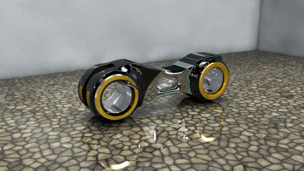WIP: Tron cycle by iskander71