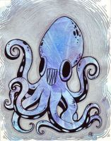 The Chipper Octopus by ArtistsBlood