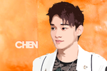 Chen Vector Popart by KpopGurl