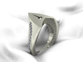 Starfleet Signet Ring 1 by mooredesign13