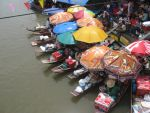 Colorful Floating Market by Latareus