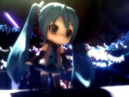 Vocaloid In The Lights by Monstarrgasim