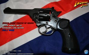 Indiana Jones - The Webley by Joran-Belar