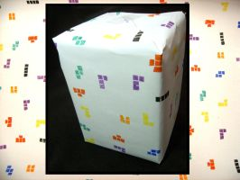 Tetris wrapping paper by digikijo