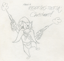 Xmas Gift- Yosemite Sam by tymime