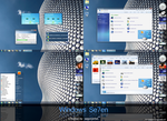 Windows Se7en with Superbar by sagorpirbd