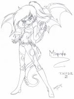 Miranda the Demon Girl by Inked-Alpha