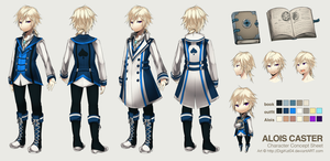 Alois Caster: ref by DigiKat04