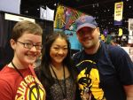 Me, Kerry, and Amy Okuda by khaoslord