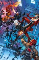 Red Hood And The Outlaws 7 cvr by BlondTheColorist