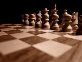 Wooden Chess in Sepia 3 by kalaquentigr