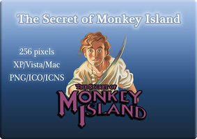 The Secret of Monkey Island by linkdragon