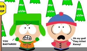 South Park, THEY KILLED KENNY by ScrewStudying