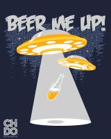 BEER ME UP by ChidoWear