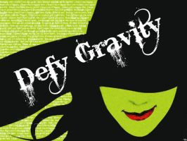 Defy Gravity Wallpaper by Zam522